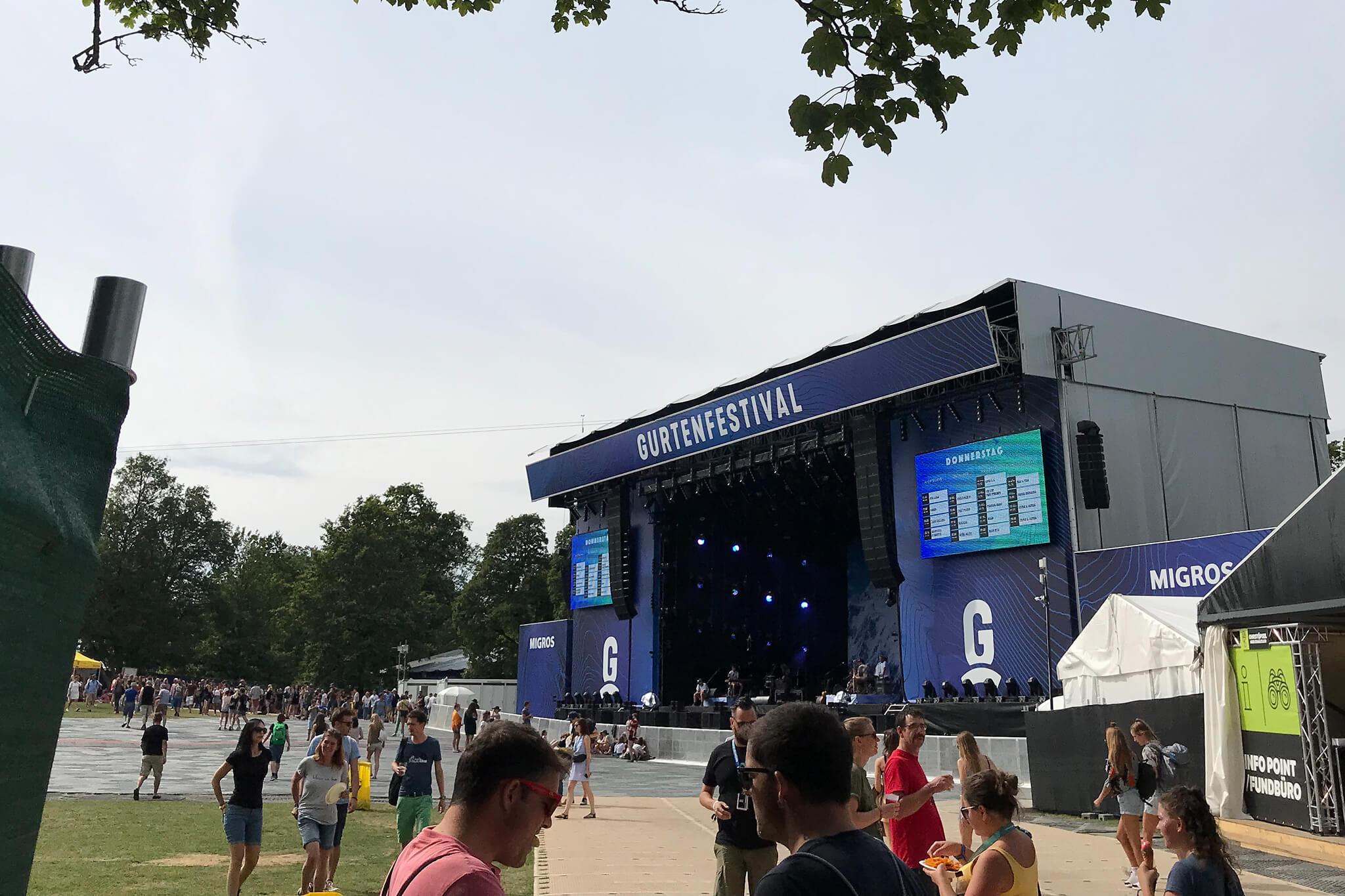 Gurtenfestival: Die zehn besten Konzert-Schnappschüsse aus dem vergangenen Jahr